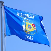 wisconsin flag a