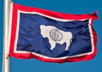 wyoming flag a