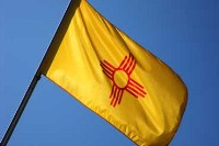 state flag new mexico a