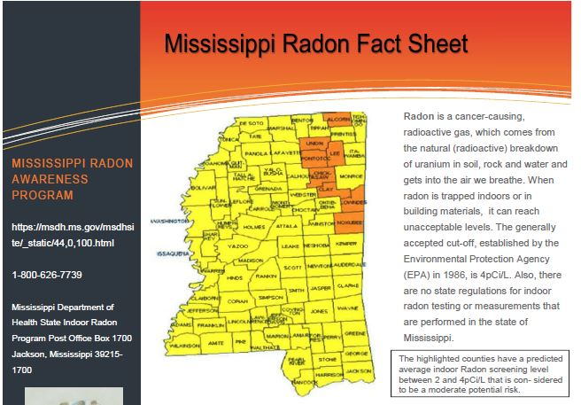 Mississippi Fact Sheet