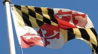 maryland flag a