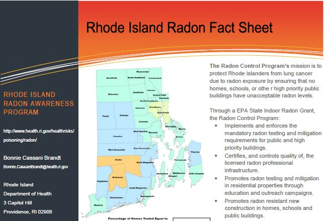Rhode Island Fact Sheet